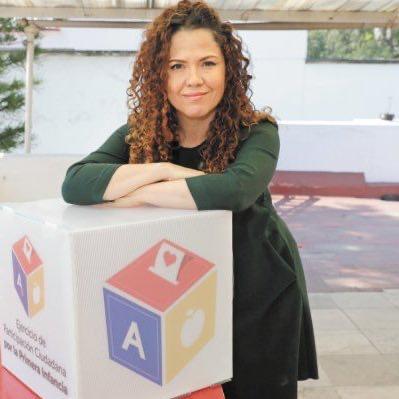 Aranzazu Alonso, coordinadora general del Pacto por la Primera Infancia/ Fuente: Redes Sociales