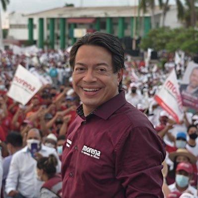 Presidente de Morena, Mario Delgado/ Twitter: @mario_delgado