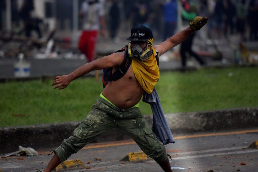 Protestas en Colombia por reforma tributaria
