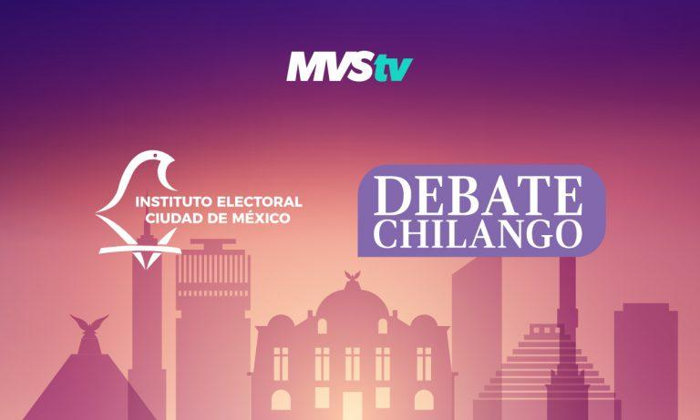 Debate Chilango/ Foto: MVSTV