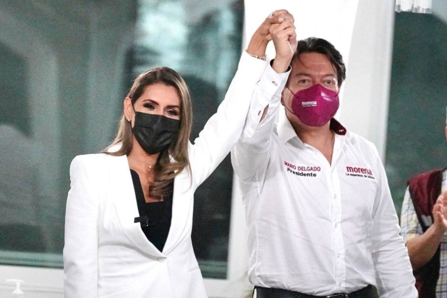Evelyn Salgado Pineda como candidata por el gobierno de Guerrero