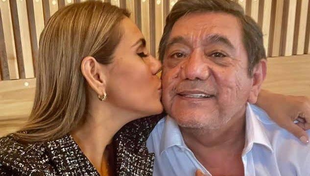 Félix Salgado Macedonio y su hija/ Fuente: Twitter