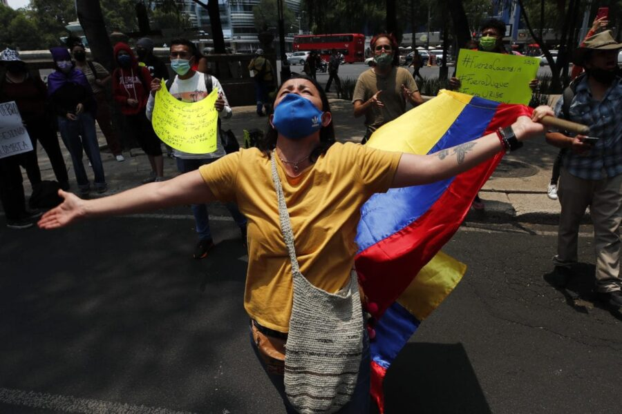 Situación política y social en Colombia