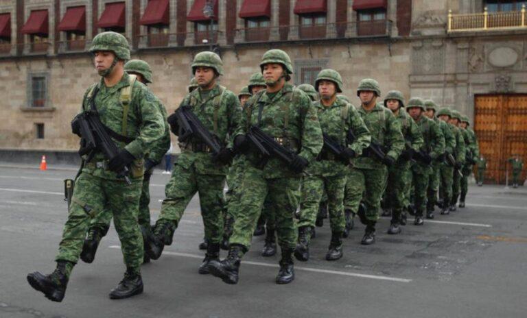 Ordenan a soldados teñir sus uniformes con colorante mariposa