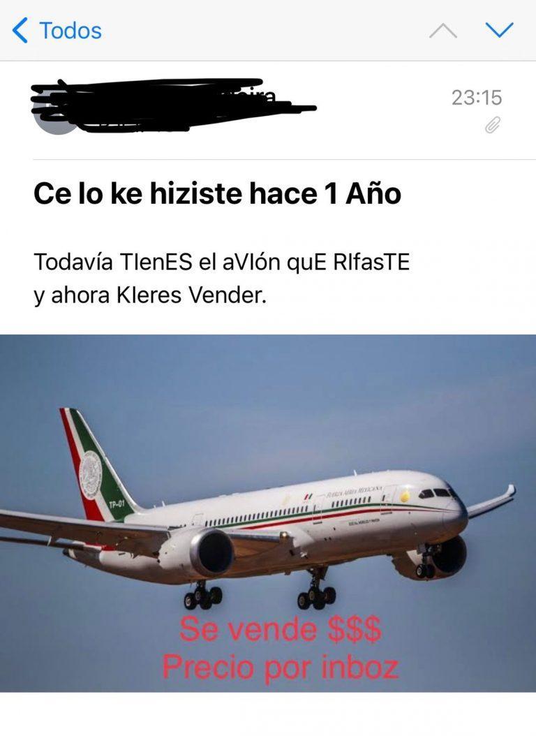 Avión presidencial/ Foto: Archivo