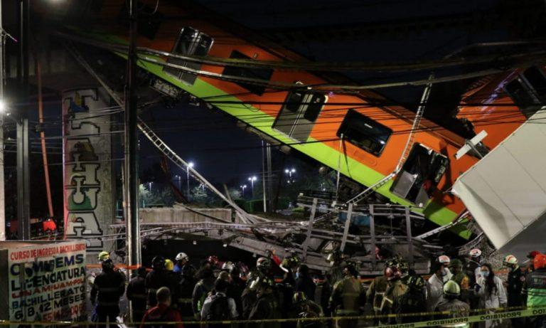 Investigadores extranjeros revelan dictamen preliminar de colapso en la línea 12 del metro