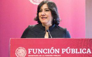 Sale Irma Sandoval de la Secretaría de la Función Pública