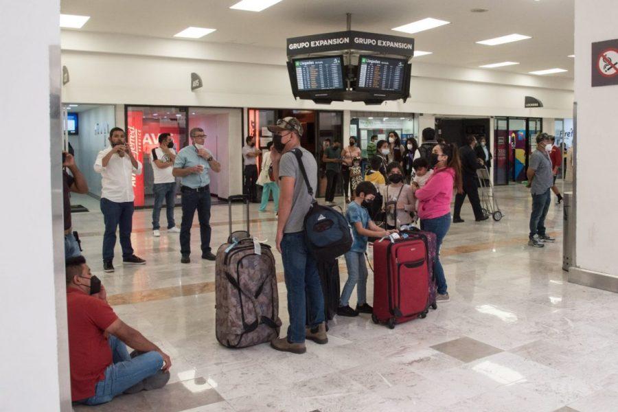 El Aeropuerto Internacional de la CDMX padece demoras en vuelos de Estados Unidos y México